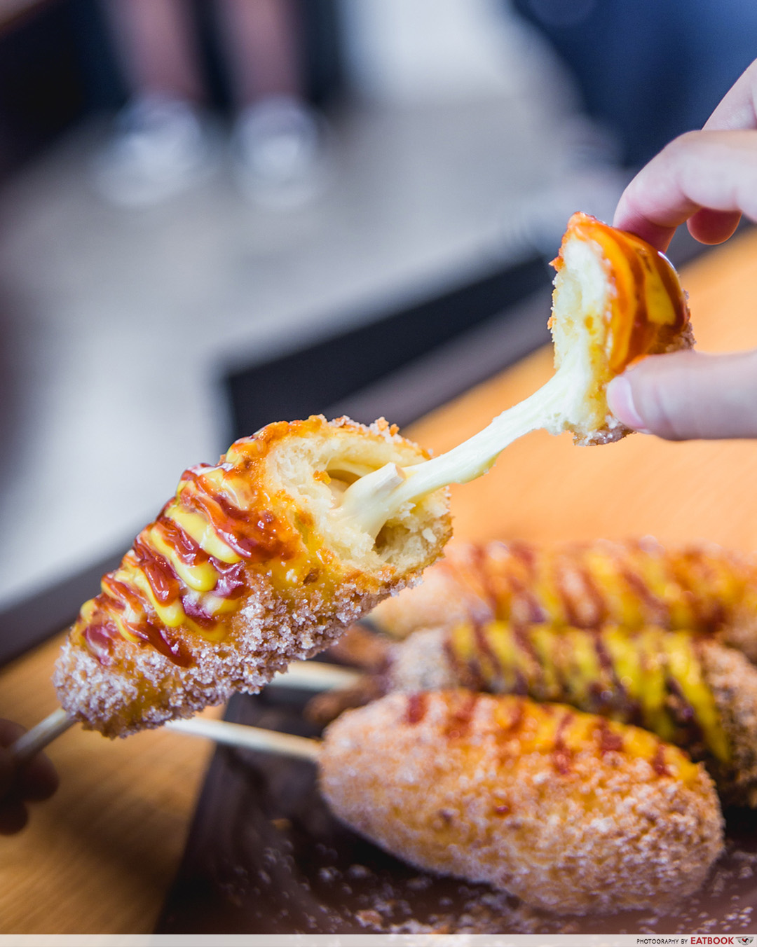 Clarke Quay Food - Gangnam Corndog