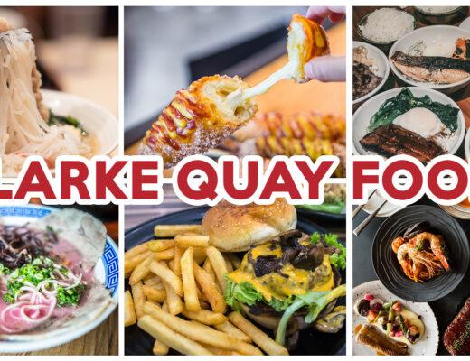 Clarke Quay Food - feature image