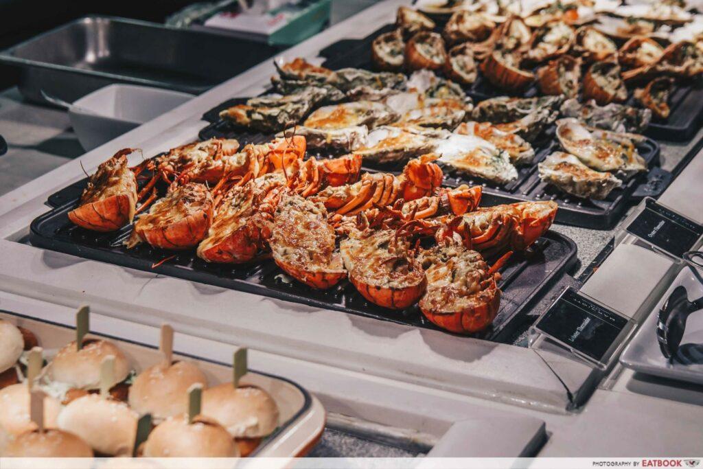 Hotel Buffet Discounts - Marriot Cafe Dinner
