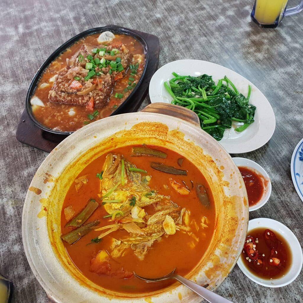 Jurong East Food - Zai Shun Curry Fish Head