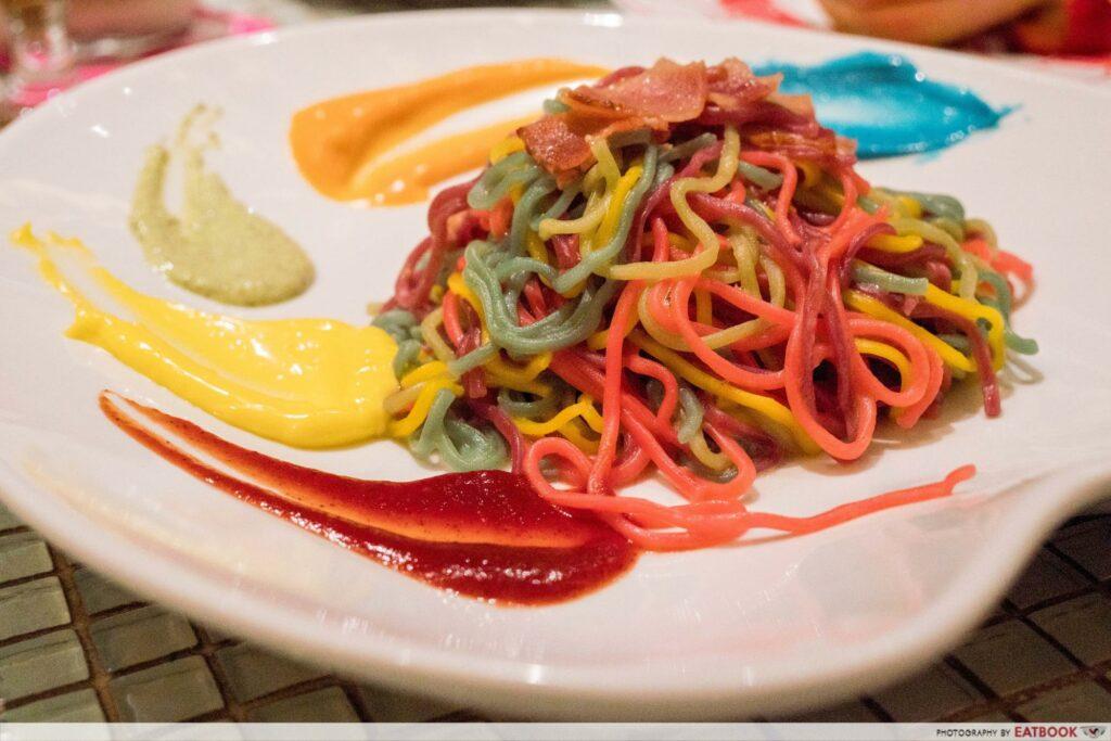 Kawaii Monster - rainbow food
