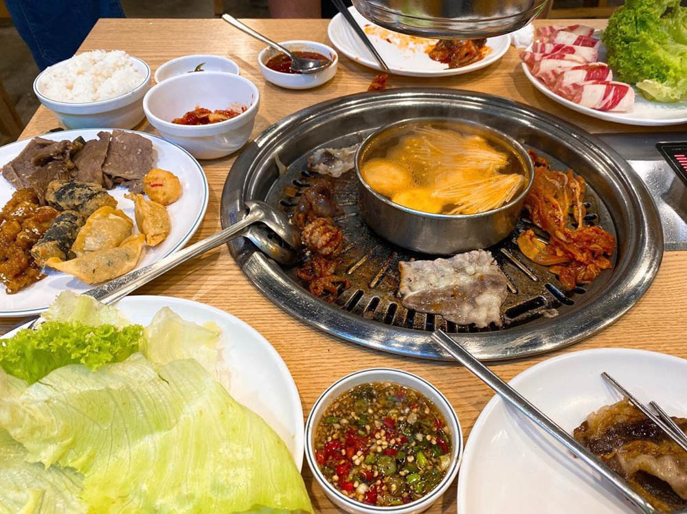 Hanssik Korean BBQ Buffet