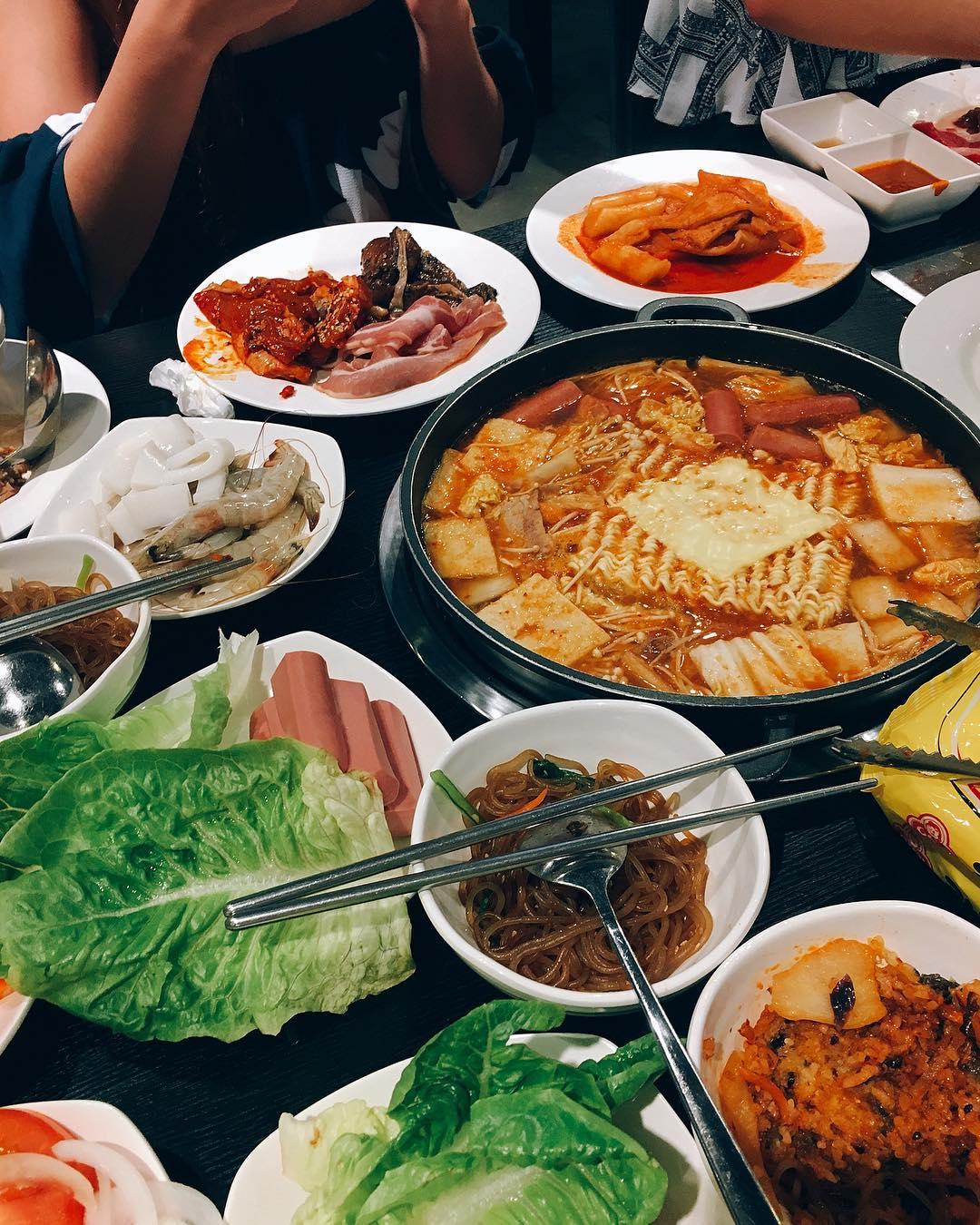 Korean BBQ Buffets - I'm Kim Junior