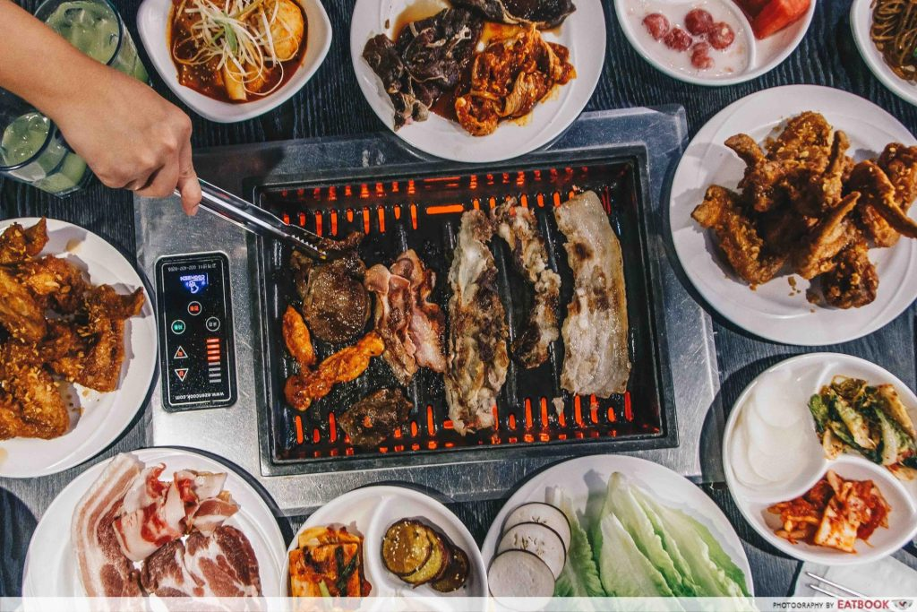 10 korean bbq buffets from 14 to feast like weightlifting fairy rh eatbook sg korean bbq buffet near me korean bbq buffet london