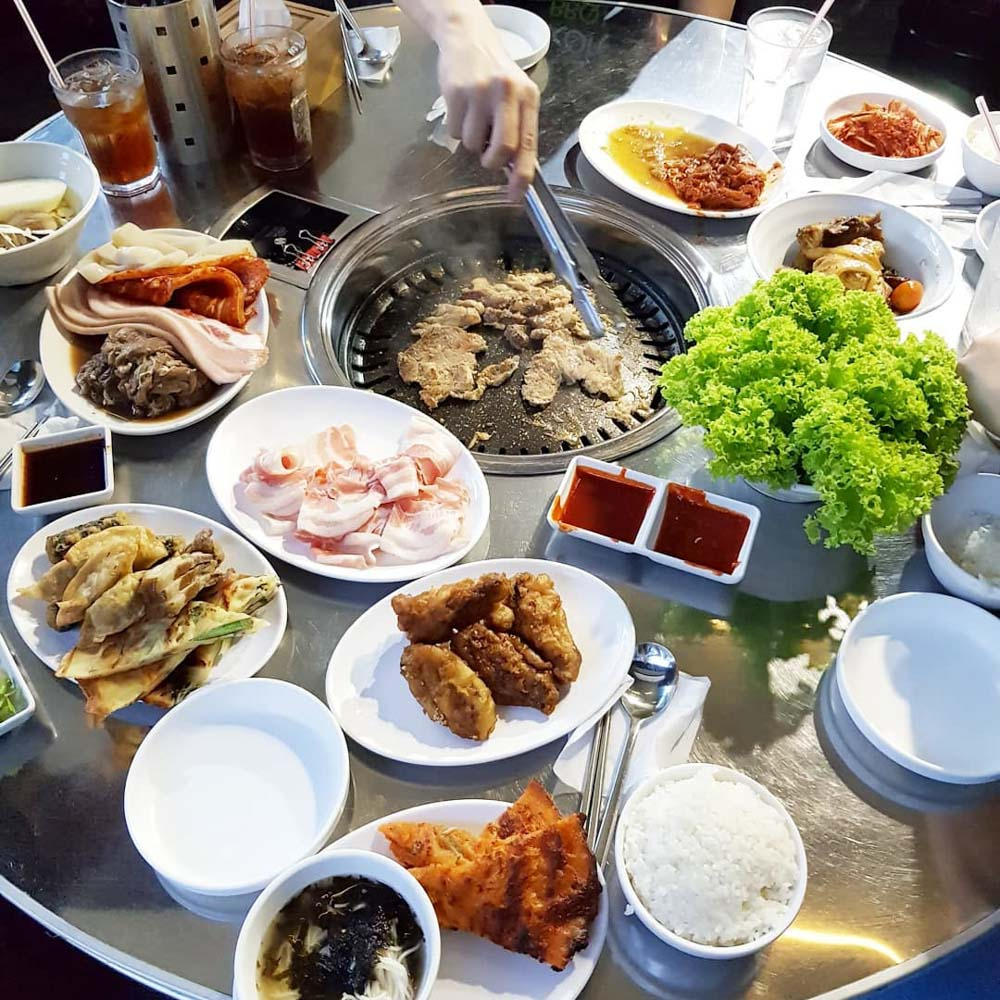 K. Cook Korean BBQ Buffet