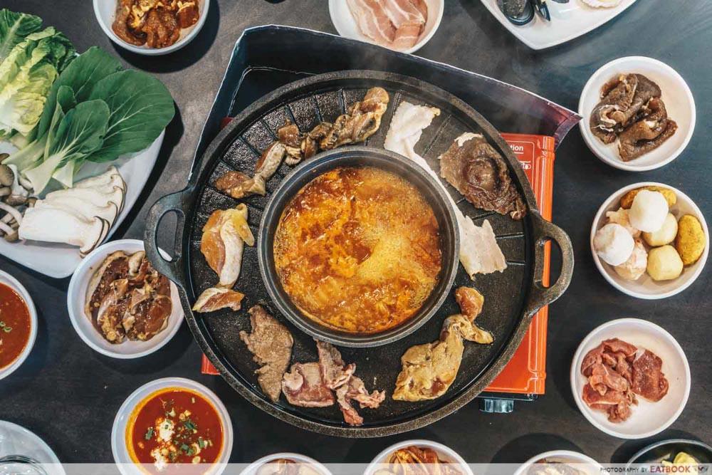 Korean BBQ Buffets Michin Korean BBQ and Hotpot