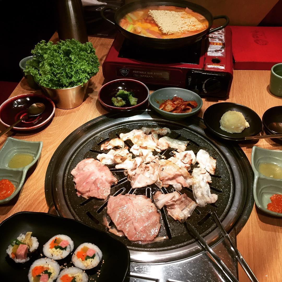 Korean BBQ Buffets - Sin Manbok Korean Restaurant