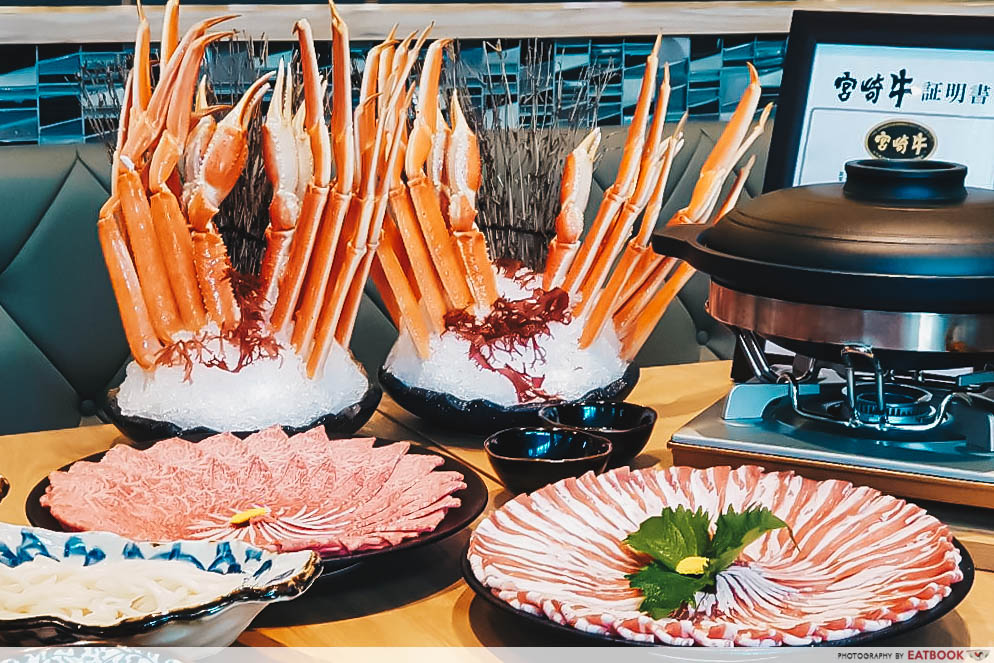 New Restaurants June 2018 - Wagyu and Crab Buffet @ En Sakaba