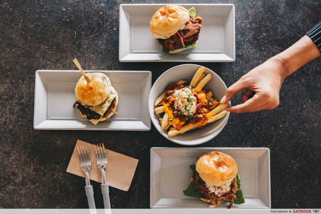 Pasir Ris Food - Burgernomics