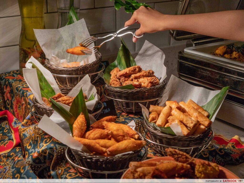 Ramadan Buffet Blue Jasmine