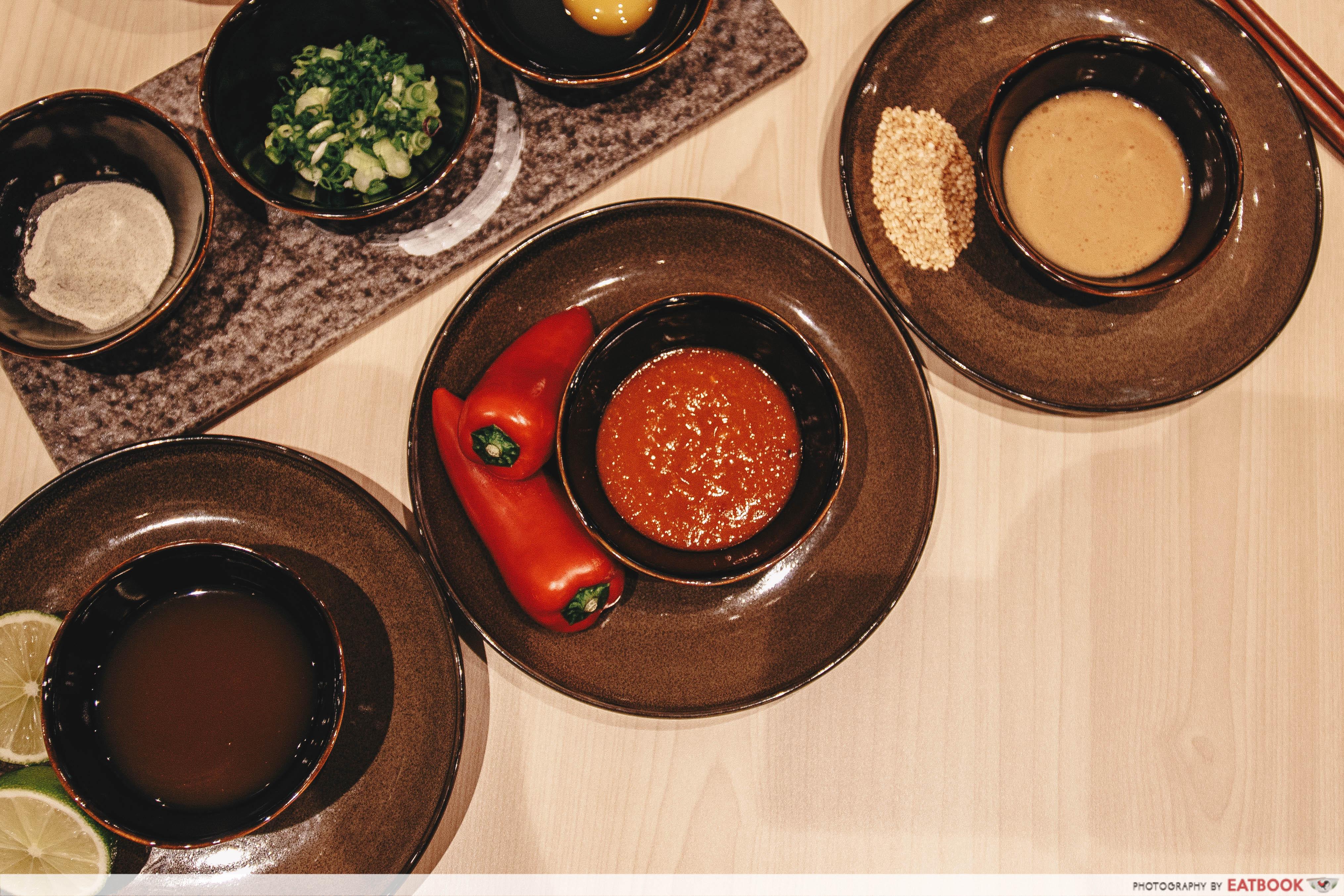 Shabu EN - sauces