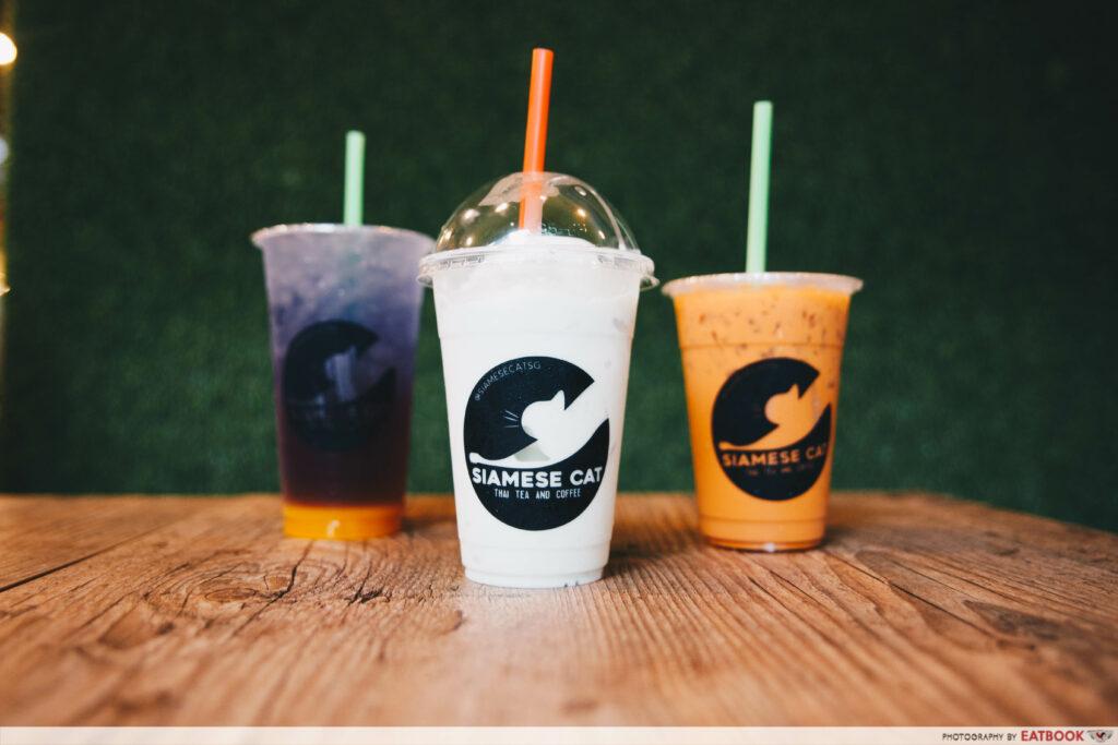 Siamese Cat - drinks