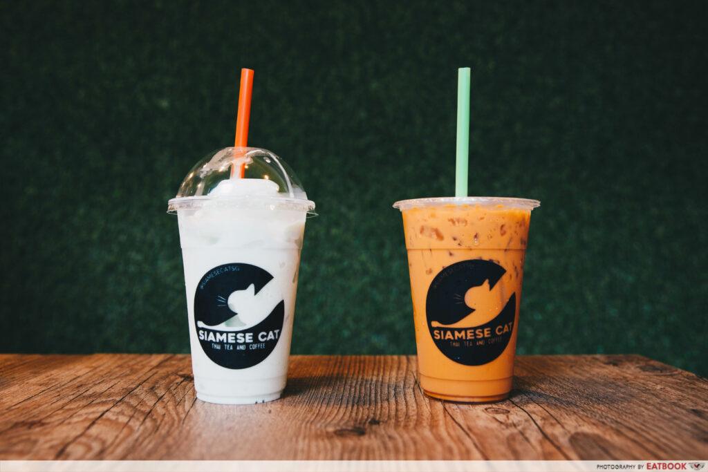 Siamese Cat - drinks 2