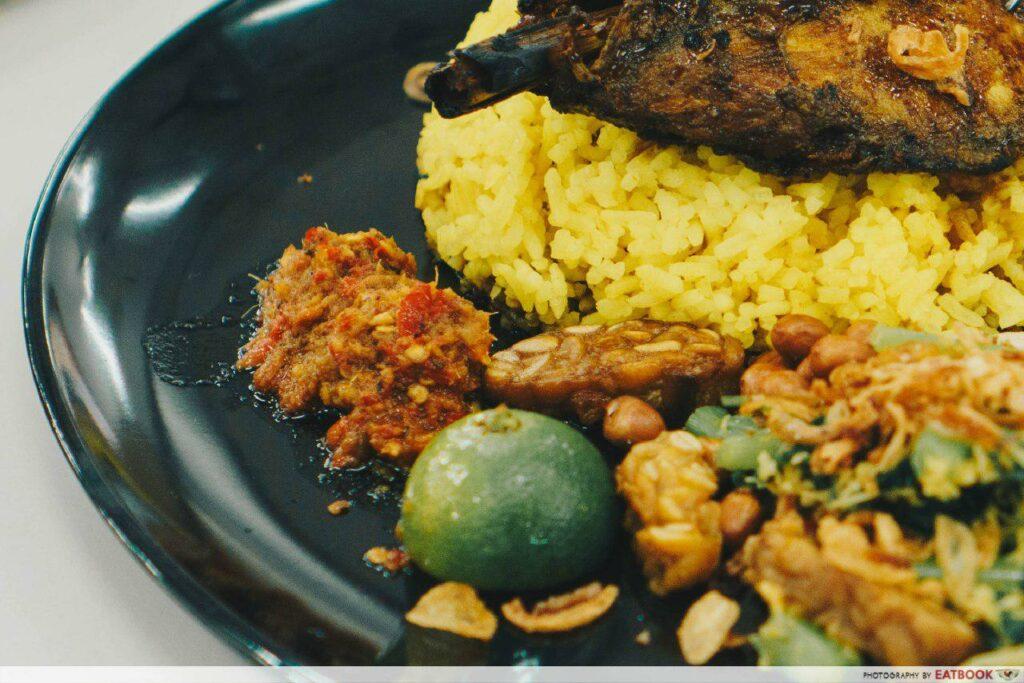 Warung K - Rice and chilli