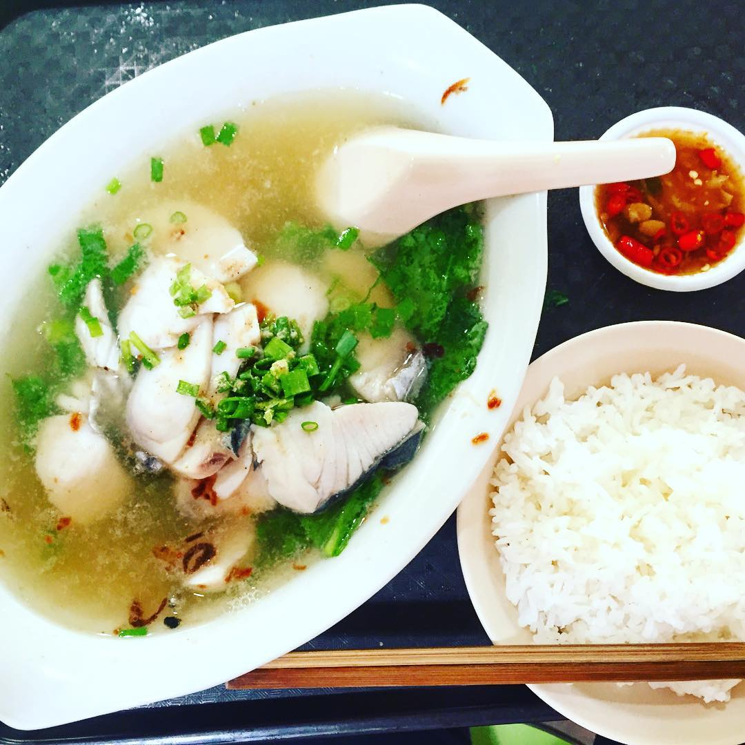 amoy street food centre- piao ji fish soup
