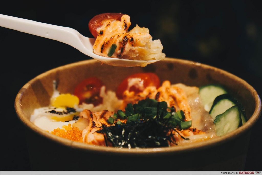kenboru salmon spoonful