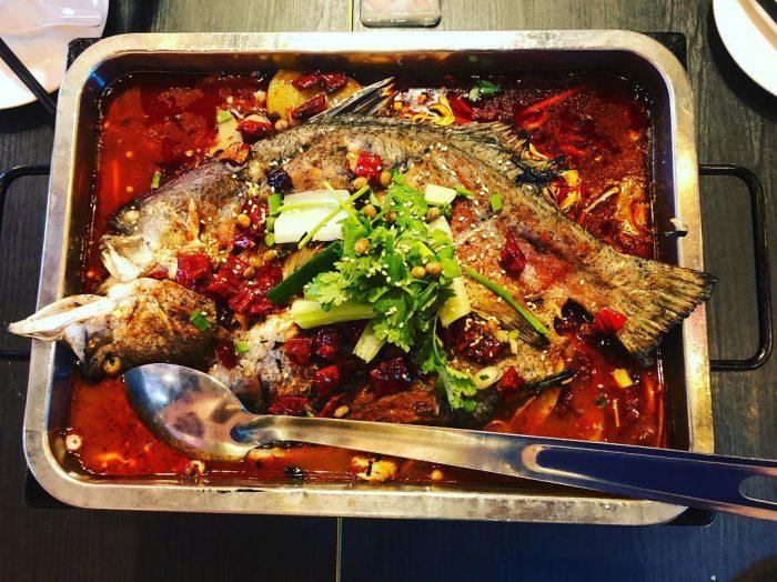 serangoon food chong qing grilled fish