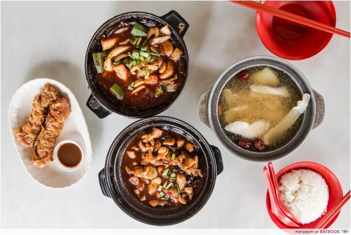 serangoon food lau wang claypots delight