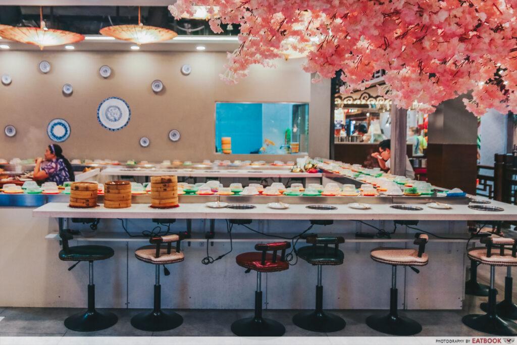 yi qian ling yi ye steamboat buffet - ambience