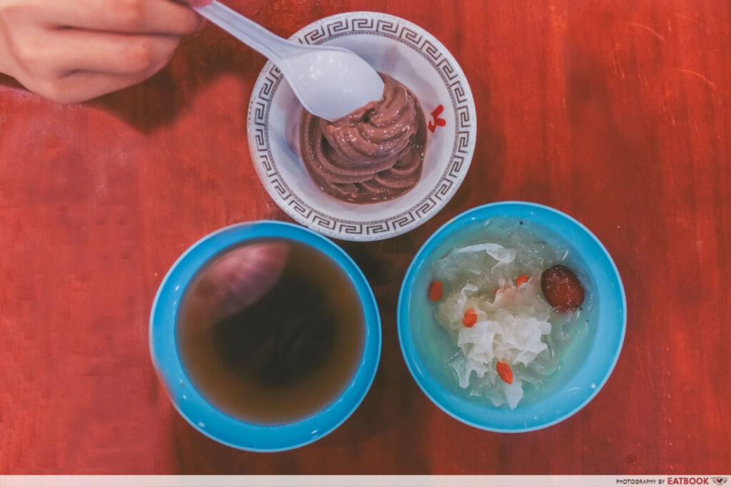 yi qian ling yi ye steamboat buffet - dessert