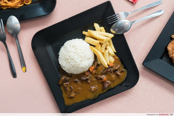 Auguste - Beef Slice Curry Rice
