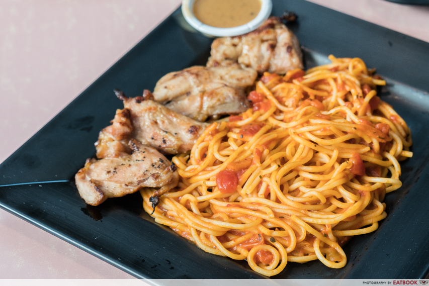 Auguste - Chickem Chop Spaghetti