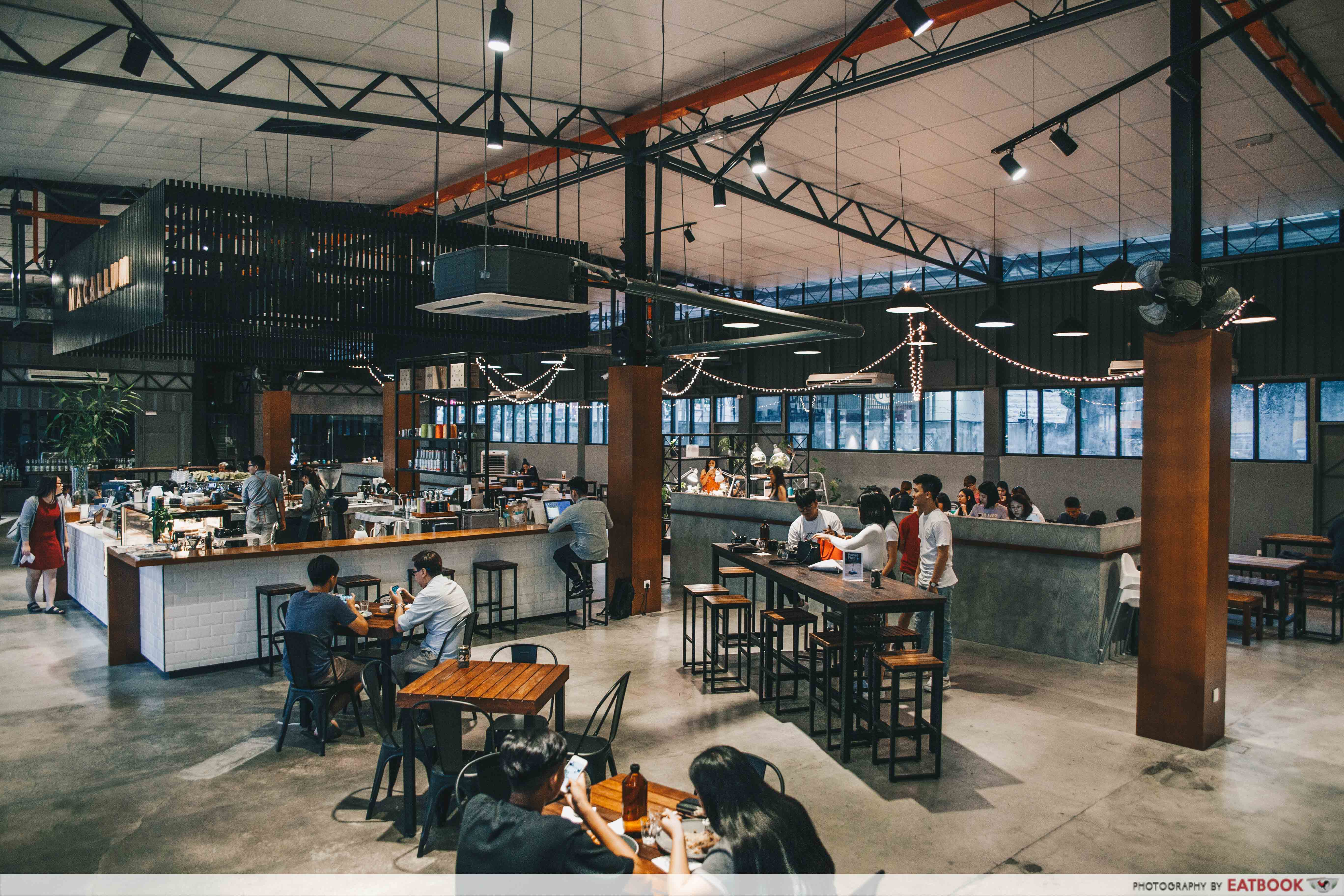 Cafes in Penang - Macallum Connoisseurs Ambience