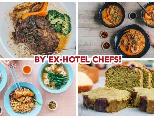 hawker stalls by ex hotel chefs