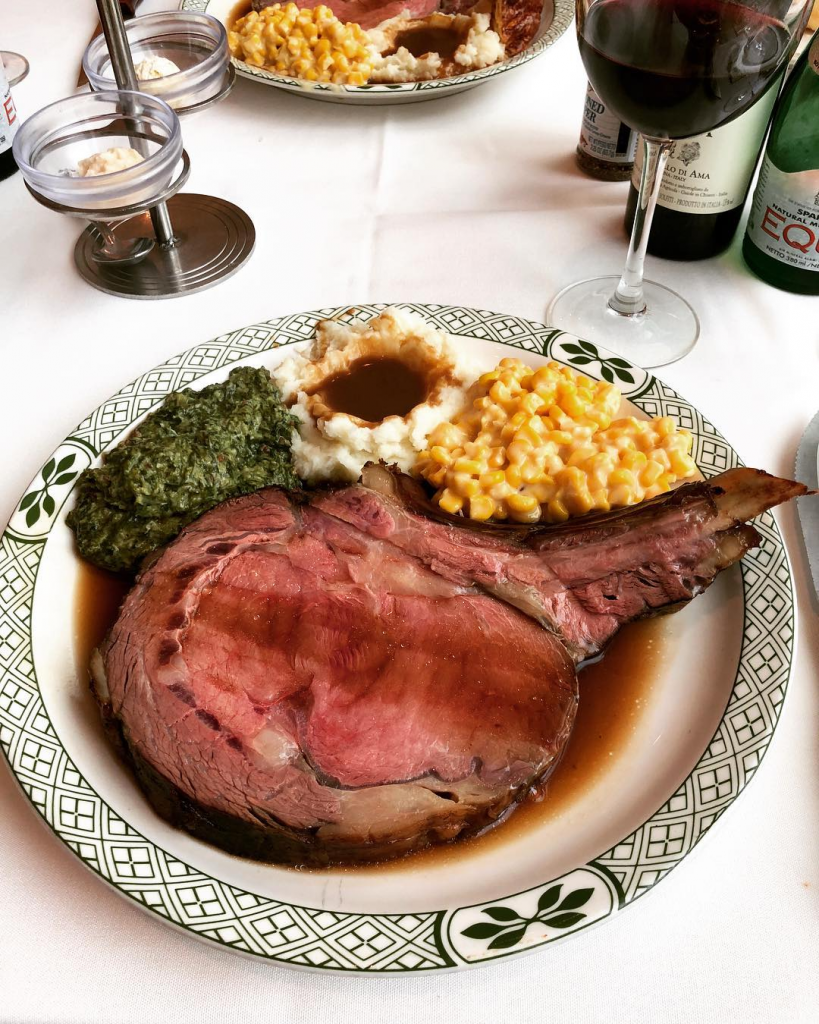Free birthday dining deals Lawry's The Prime Rib