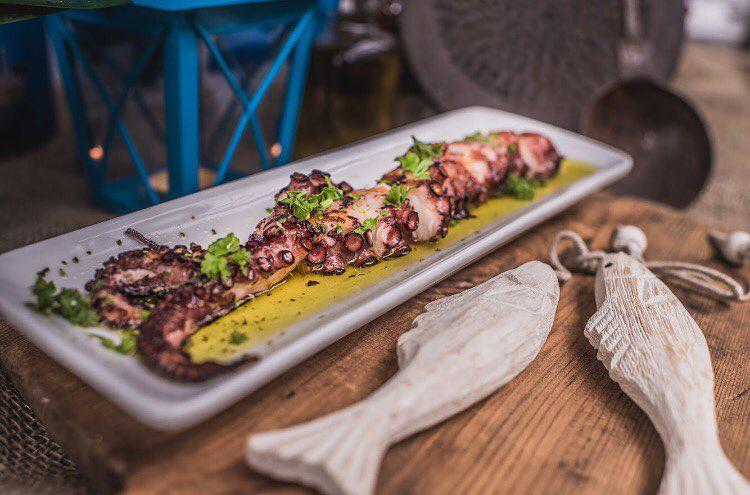 Greek Restaurants Blu Kouzina