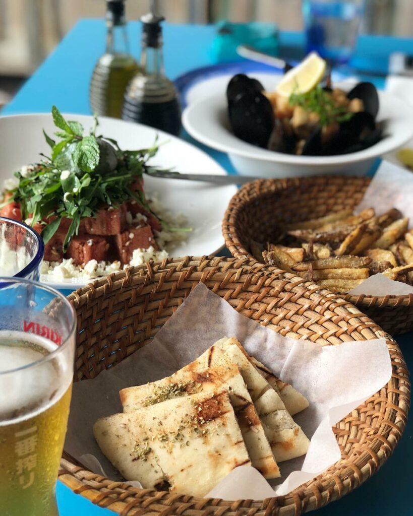 Greek Restaurants Mykonos On The Bay