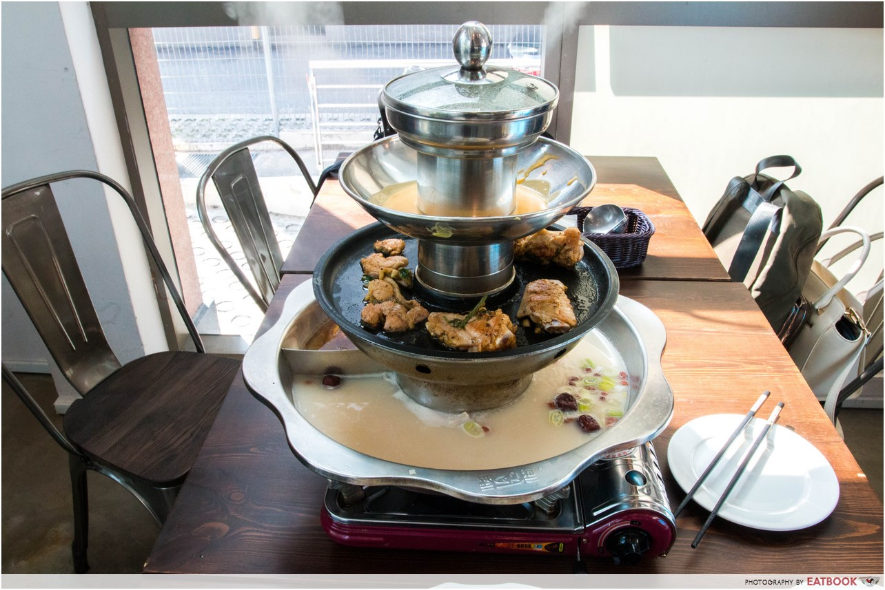 Halal Steamboats - The Flame Cafe N Spark Restaurant