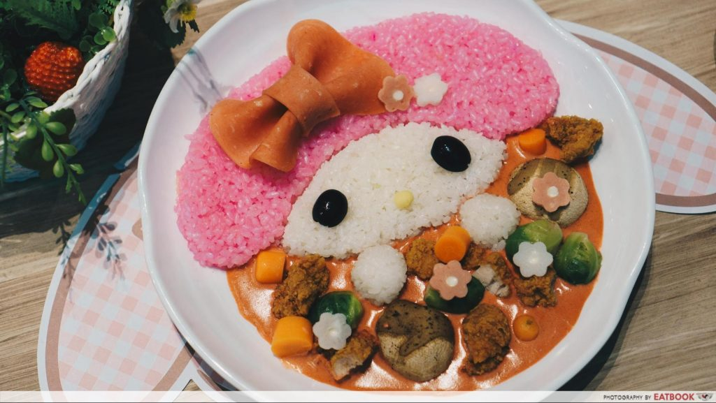 My Melody Cafe - rice