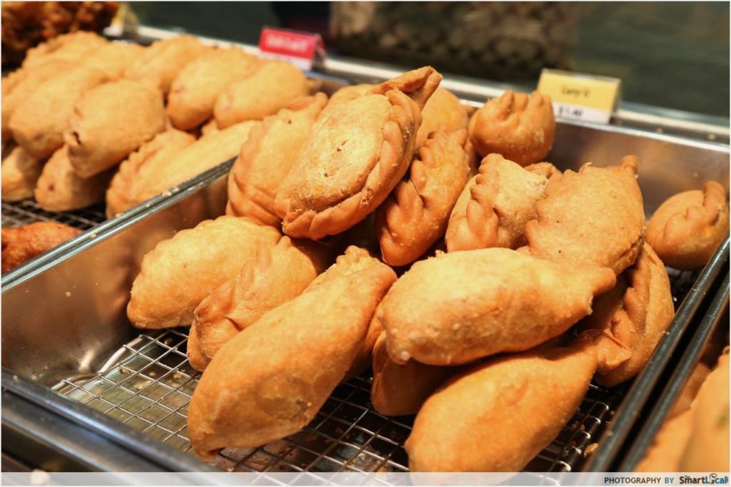 Old Chang Kee London Curry Puff