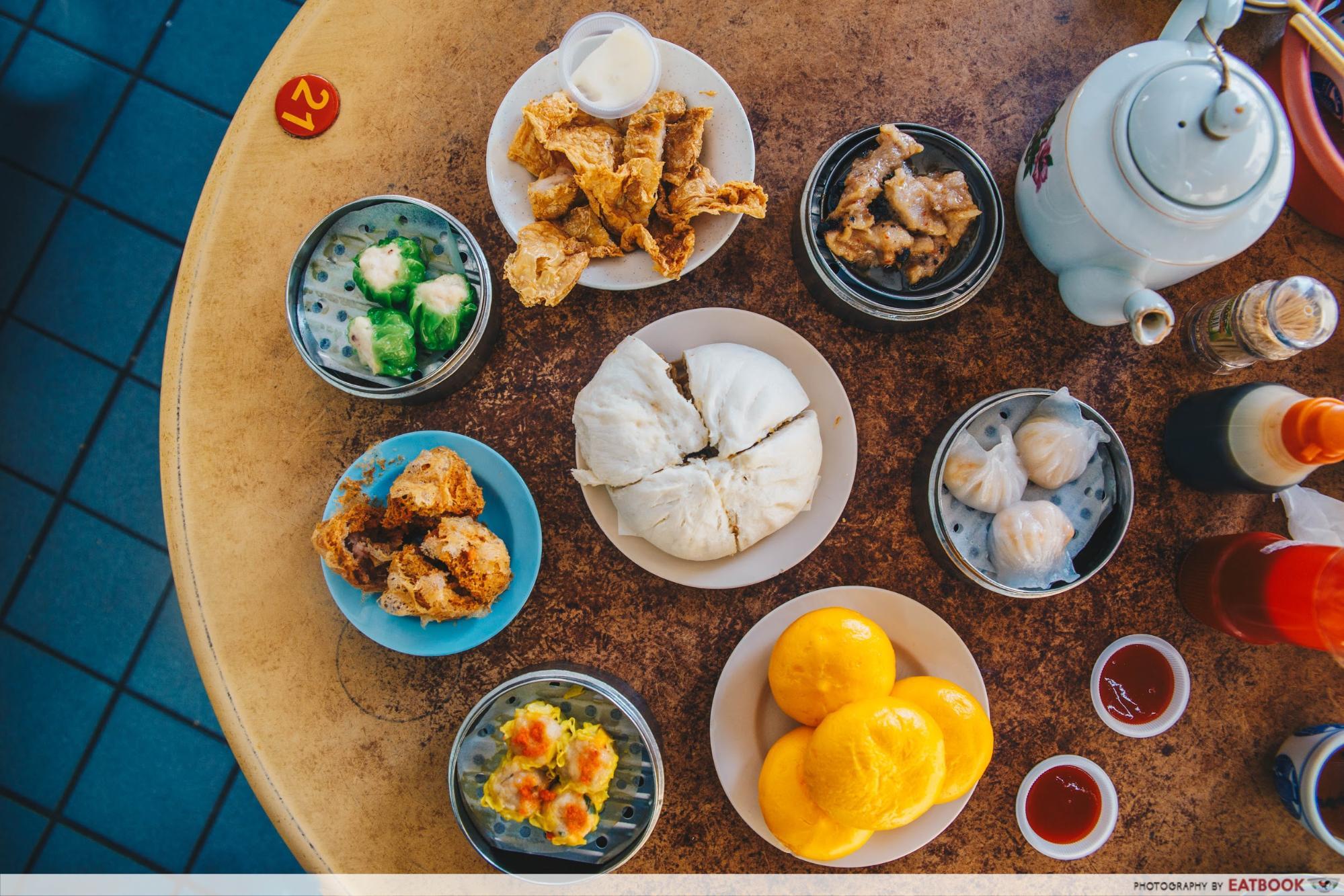 Penang Hawker Food - De Tai Tong Cafe dim sum