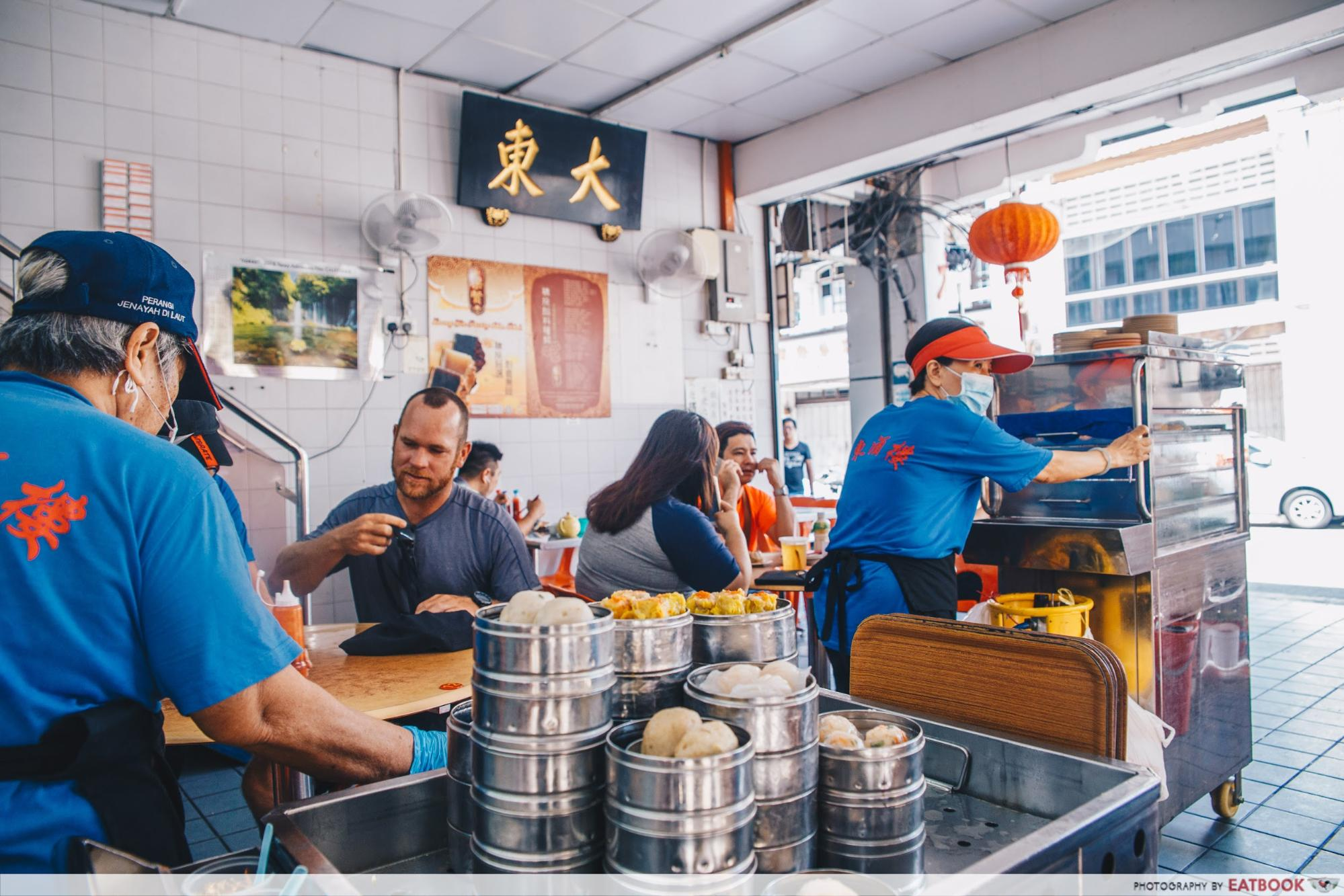 Penang Hawker Food - De Tai Tong Cafe