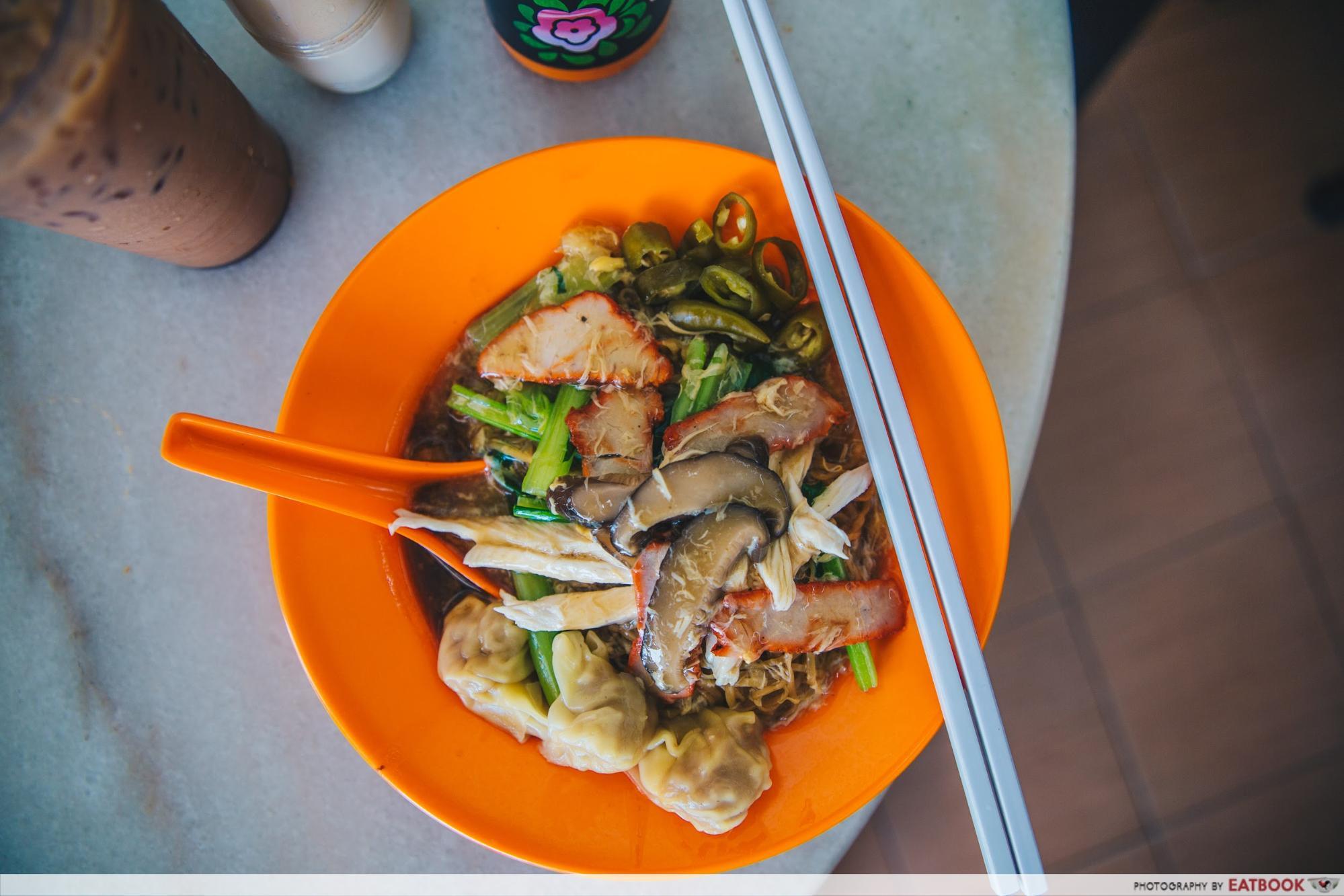 Penang Hawker Food - Wonton Mee