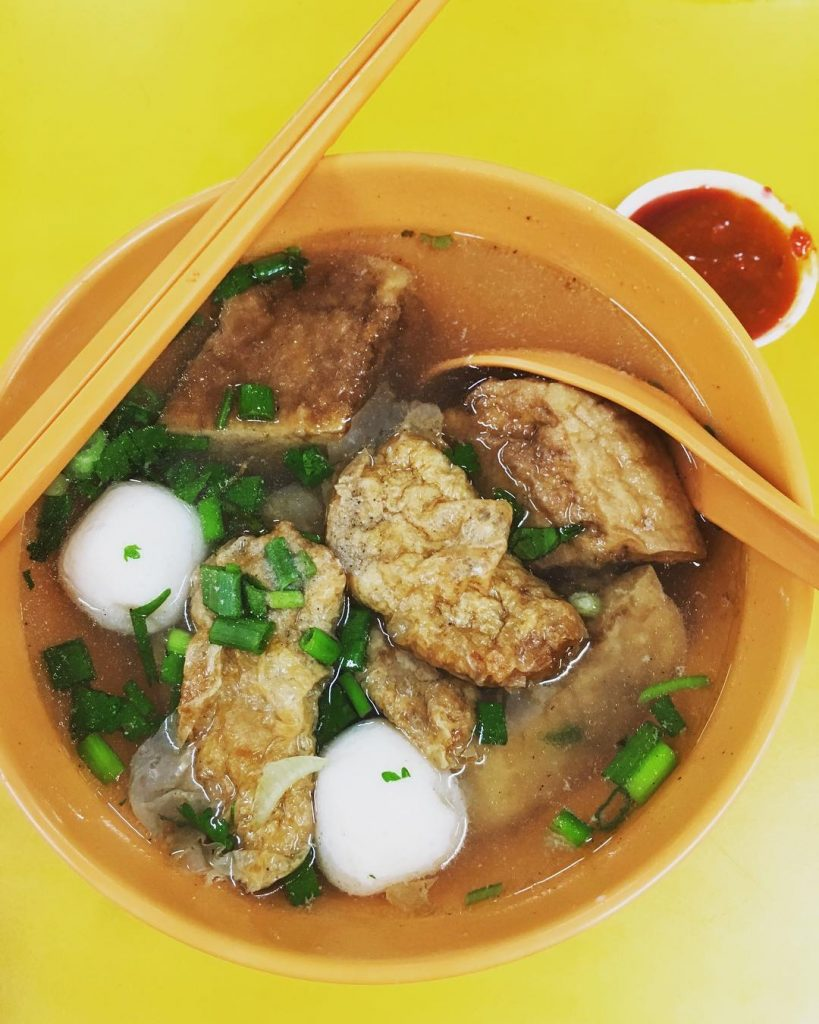 Peoples Park Food Yong Tau Fu