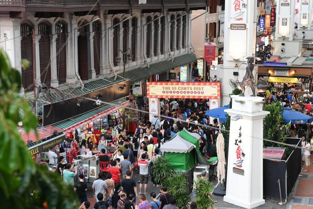 Singapore Food Festival - 50 Cent Festival