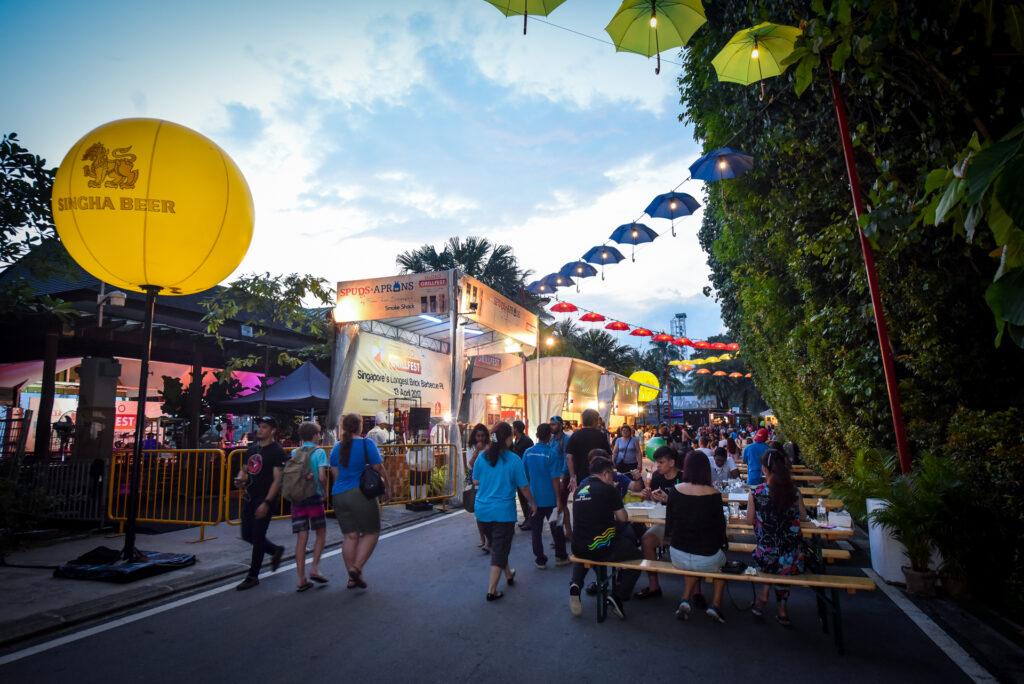 Singapore Food Festival - Sentosa