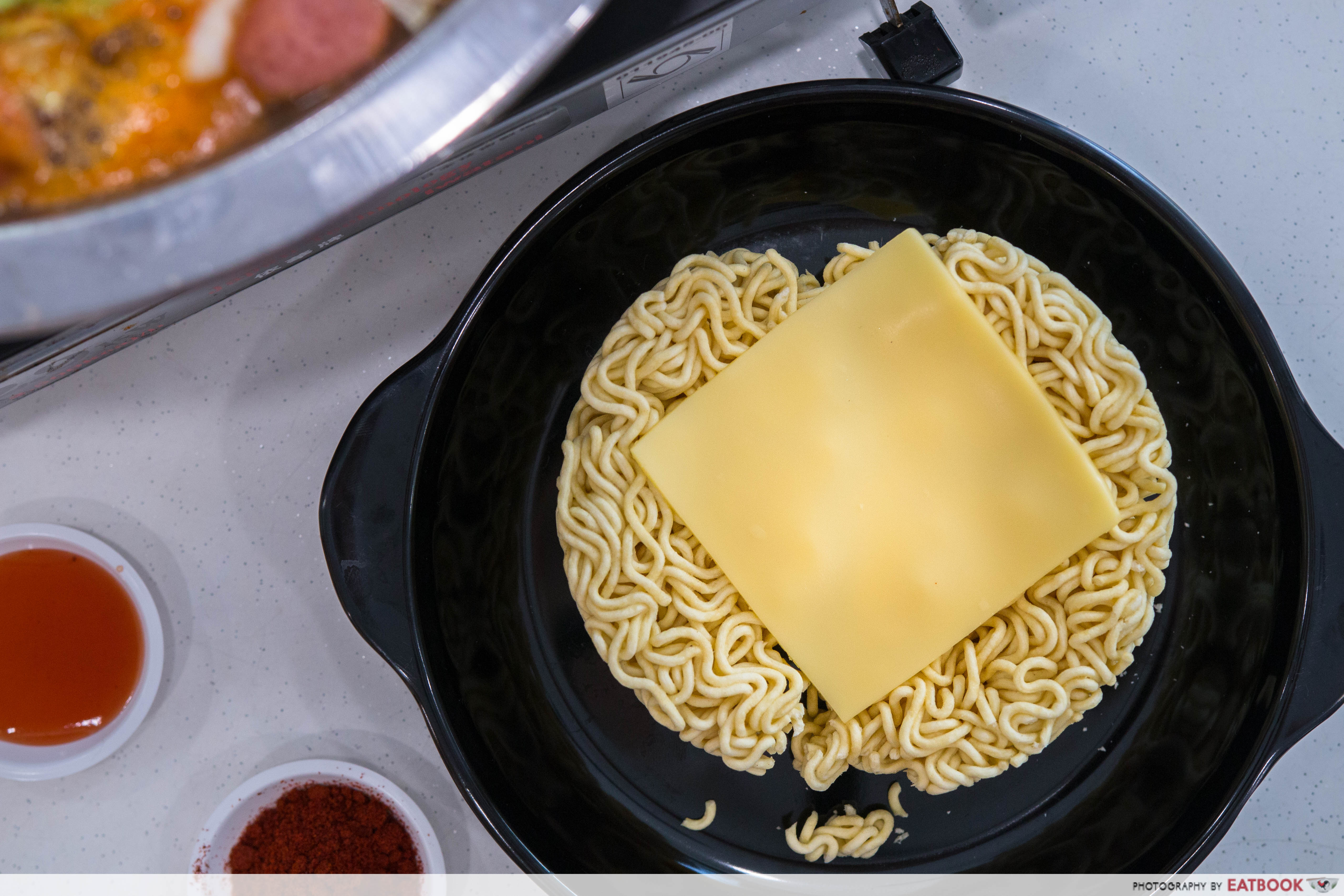 Star Army Stew - noodles w cheese