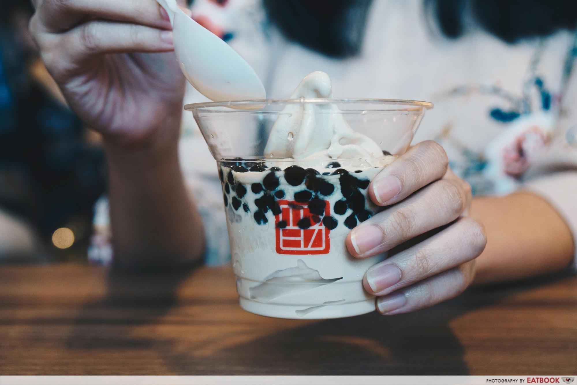 TP Tea - Pearl Milk Tea Soft Serve