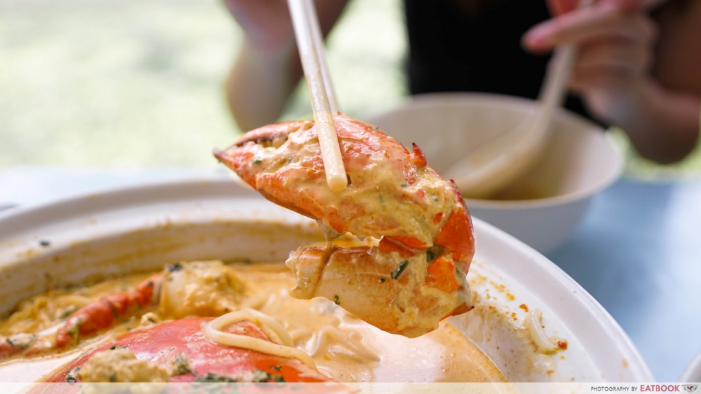 Unique Laksa Stalls Dons Signature