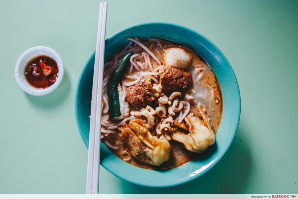 Unique Laksa Stalls Woo Ji Cooked Food