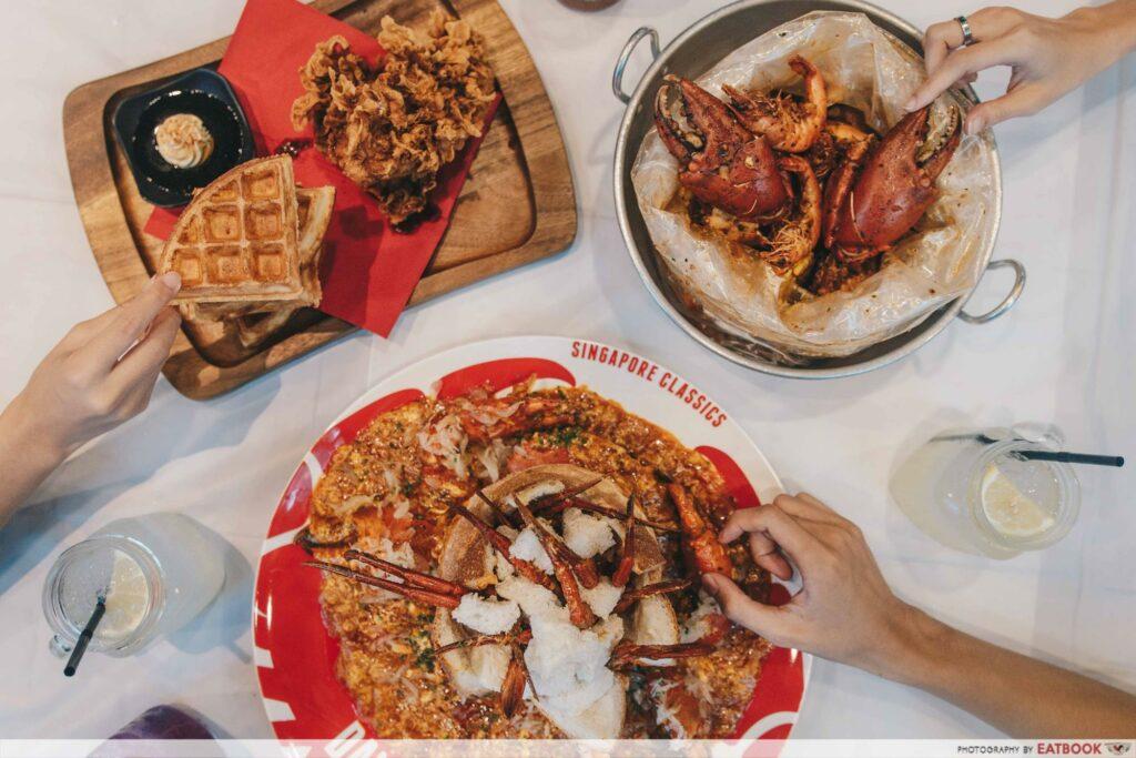 Weekend dining deals 50% Dancing Crab