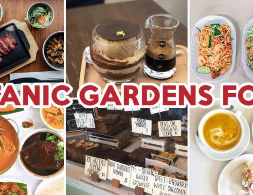 botanic gardens food