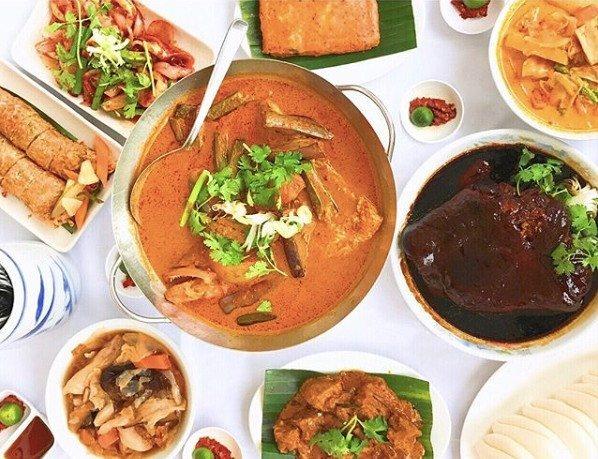 botanic gardens food - Curry Wok