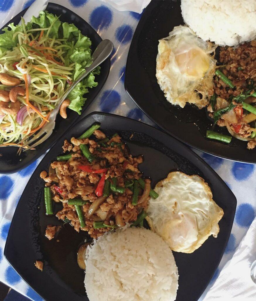 botanic gardens food - lewu cafe