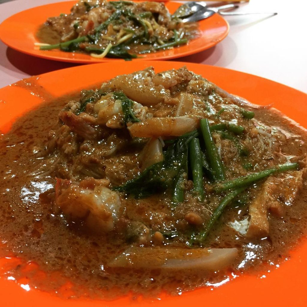 sembawang hills food centre-Centre Satay Bee Hoon