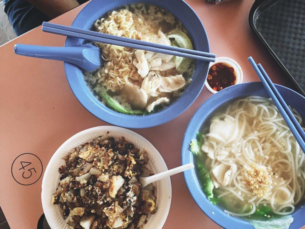 sembawang hills food centre-Fresh Fish Seafood Soup